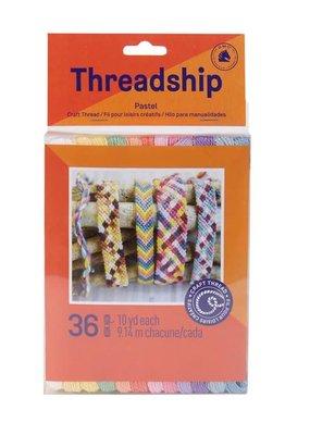 DMC Threadship Craft Thread Pack Pastels