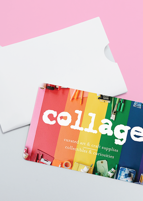 collage $100 Gift Card