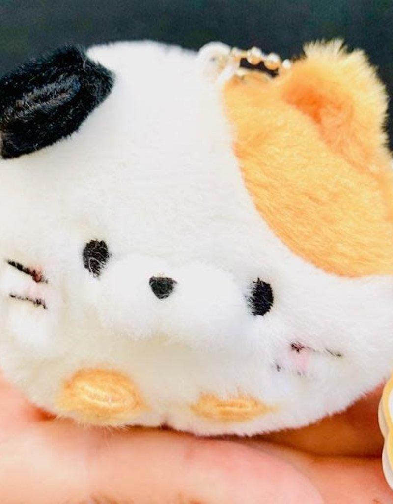 Plush Squishy Cat Keychain