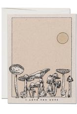 Red Cap Cards Card Mushroom Love
