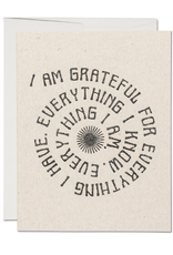Red Cap Cards Card Grateful for Everything