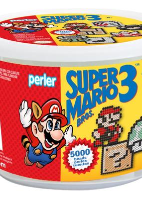 Perler Perler Fused Bead Super Mario Bros  Bucket Kit