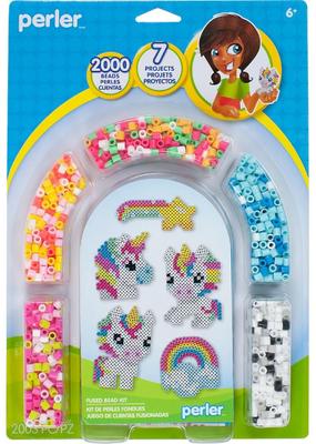 Perler Perler Fuse Bead Unicorn   Activity Kit