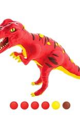 Hands Craft DIY Wood & Clay Model T-Rex