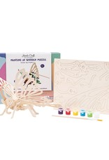 Hands Craft 3D Wooden Puzzle & Paint Kit Butterfly