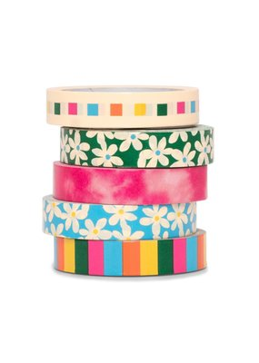 Ban.do Stick With It Paper Tape Mega Pack Daisies