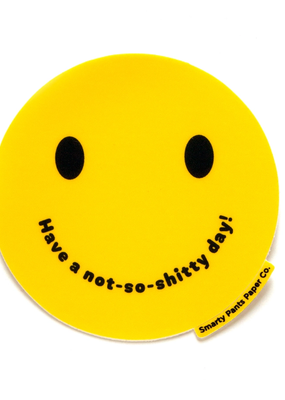 Smarty Pants Paper Sticker Smile