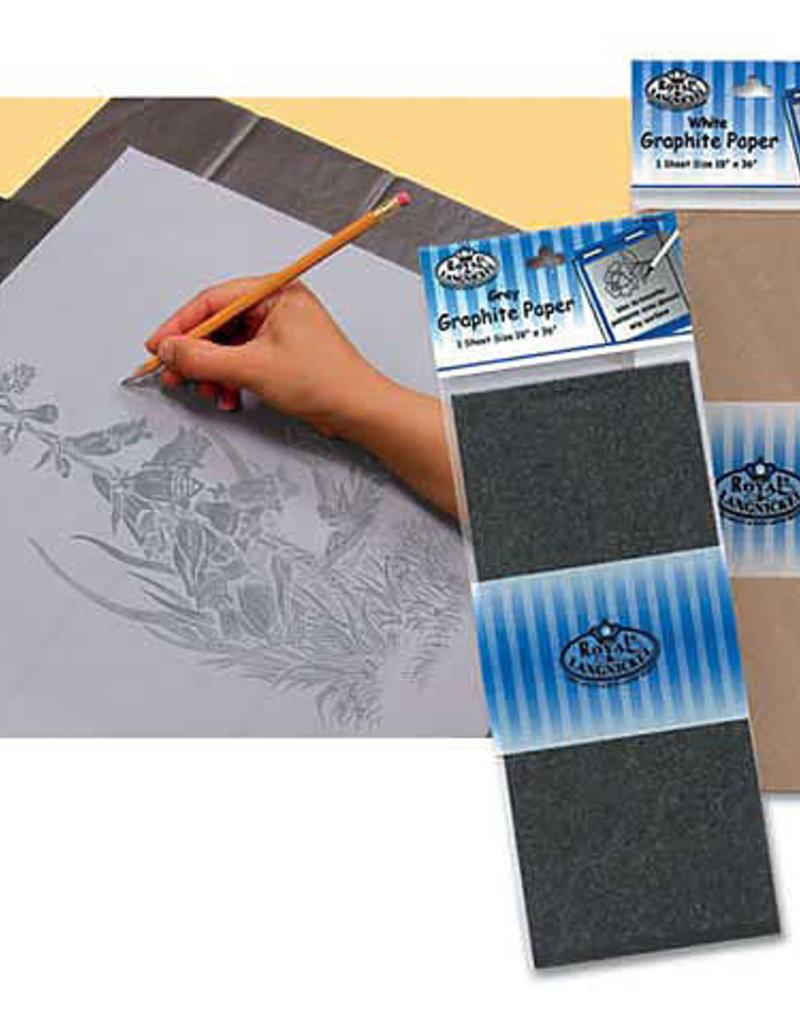 Royal Brush Graphite Paper White - 18 x 36 Sheet