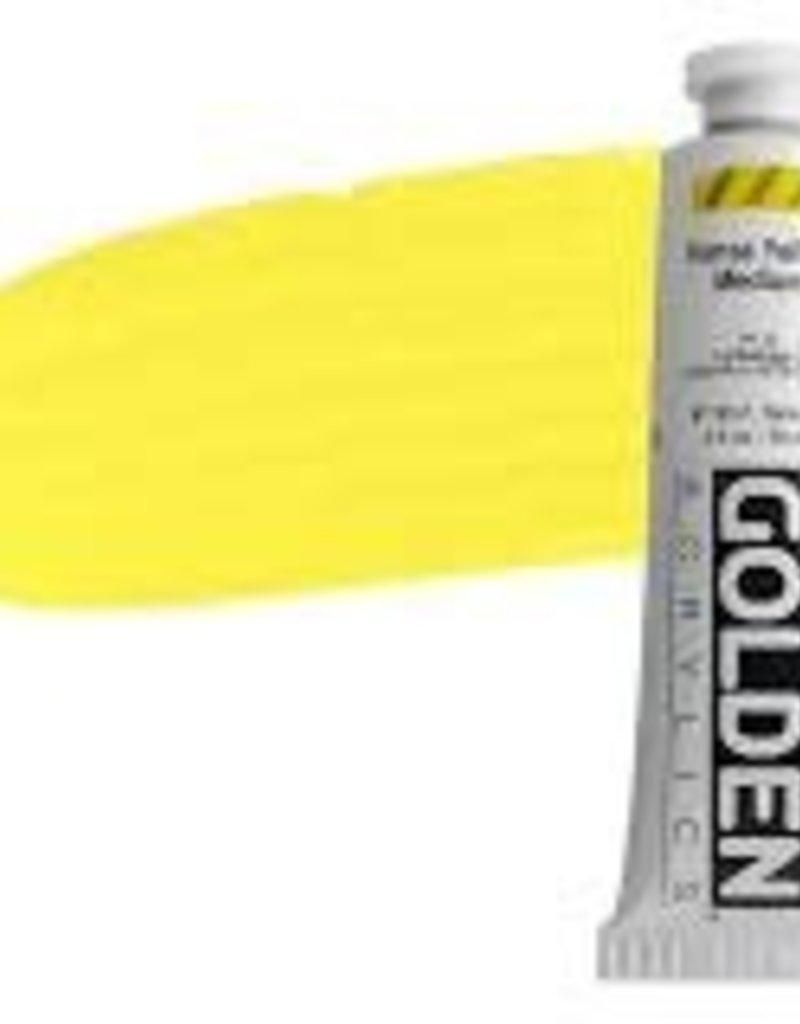 Golden Golden Heavy Body Acrylic 2 Oz. Hansa Yellow Medium