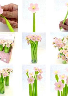 Peach Blossom Gel Pen