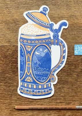 Noteworthy Postcard Beer Stein