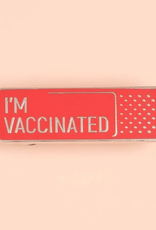 collage Enamel Pin I'm Vaccinated