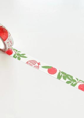Kraftille Washi Pomegranate