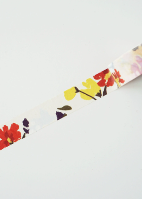 Ginably Washi Floral Painting