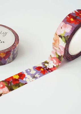 Ginably Washi Glitter Floral
