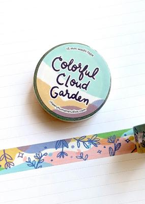 Cheery Human Studios Washi Colorful Cloud Garden