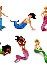 Safari Mermaid Figurine Set