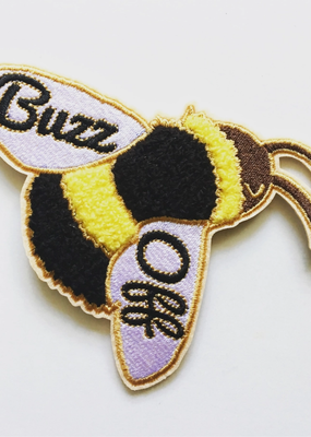 Ilootpaperie Patch Buzz Off Bumble Bee