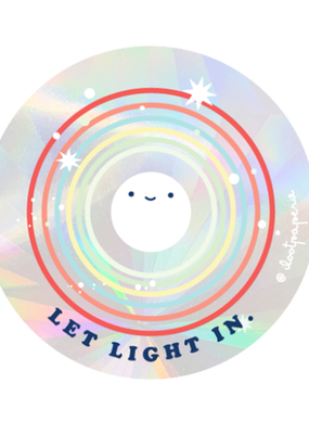 Ilootpaperie Suncatcher Sticker Let Light In
