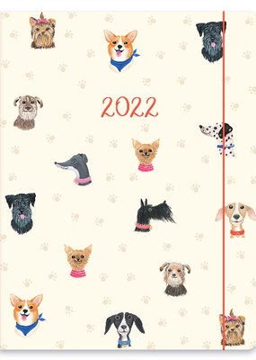 Studio Oh! Monthly 2022 Planner Doggone Cute