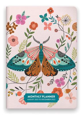 Studio Oh! Monthly Pocket 2022 Planner Enchanted Garden