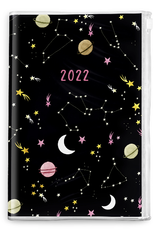 Studio Oh! Monthly Pouch 2022 Planner Moons and Stars