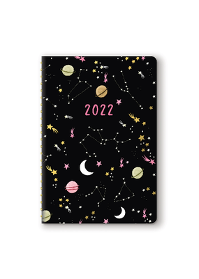 Studio Oh! On-Time Weekly 2022 Planner  Moons & Stars