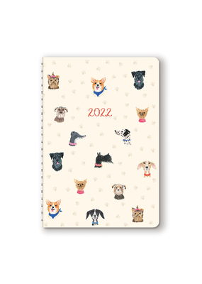 Studio Oh! On-Time Weekly 2022 Planner Doggone Cute