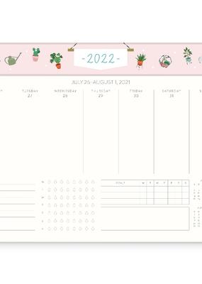 Studio Oh! Weekly Desk 2022  Calendar Tiny Treasures