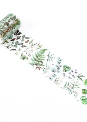 collage Washi Transparent Plants