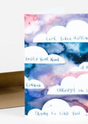 Little Truths Studio Card Ever Since Happiness Heard Your Name