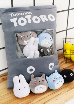collage Totoro Snack Pillow