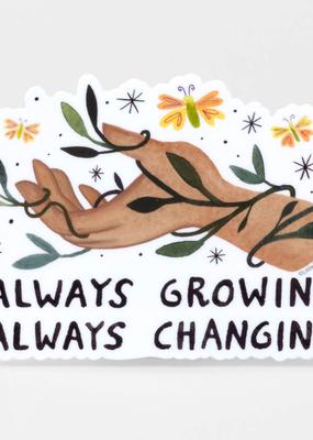 Little Truths Studio Sticker Always Growing, Always Changing