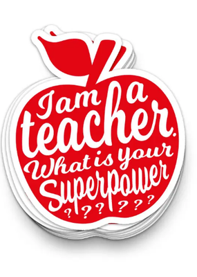 Studio Inktvis Sticker I am a Teacher