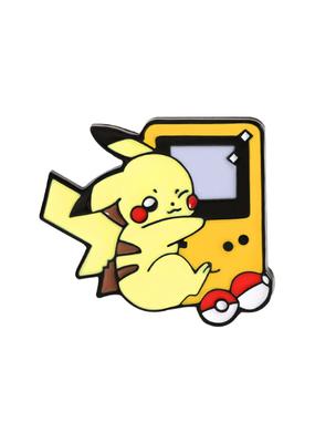 collage Enamel Pin Pikachu Game Boy
