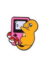 collage Enamel Pin Charmander Game Boy