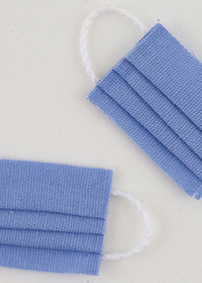 Handley House Miniature Blue Masks
