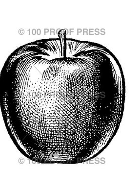 100 Proof Press Stamp Perfect Apple