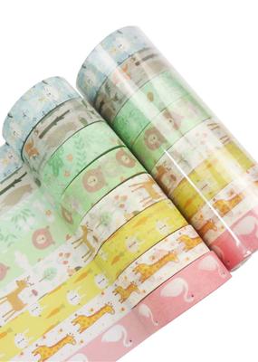 collage Washi Set Kawaii Animal