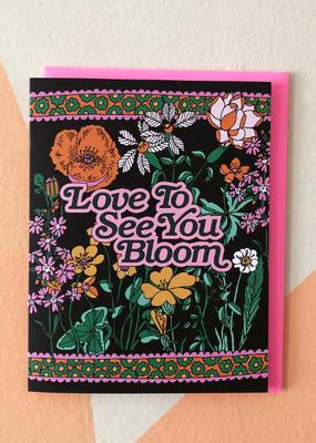 Ash + Chess Card Bloom