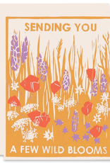 Heartell Press Card Sending You Wild Blooms Friendship