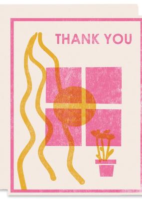 Heartell Press Card Window Thank You
