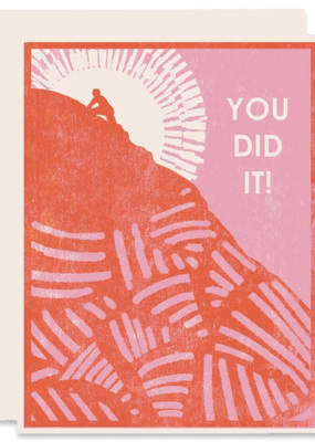 Heartell Press Card You Did It Celebration