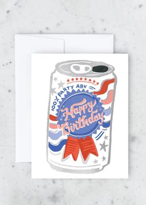 Idlewild Card Birthday Beer