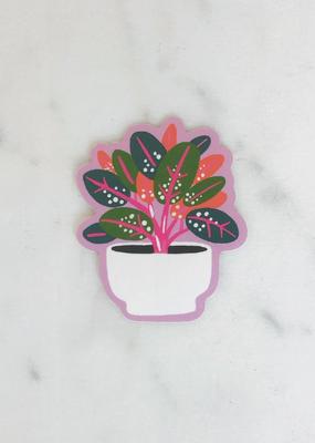 Idlewild Sticker Rubber Plant
