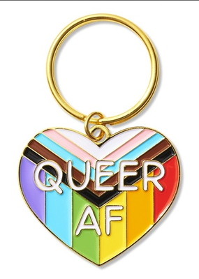 The Found Keychain Queer AF