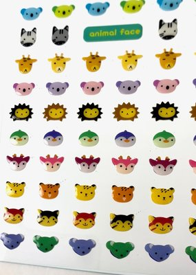 Stickers Animal Faces 2