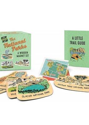 Running Press The National Parks: A Wooden Magnet Set