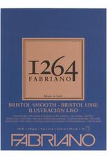 Fabriano Fabriano 1264 Bristol Pad Smooth 9 x 12