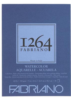 Fabriano Fabriano 1264 Watercolor Pad 9 x 12